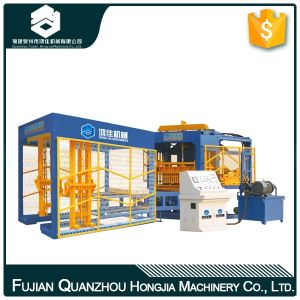 Automatic Concrete Hollow Block Making Machine